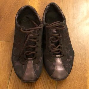 Coach Brown Sneakers Shoes
